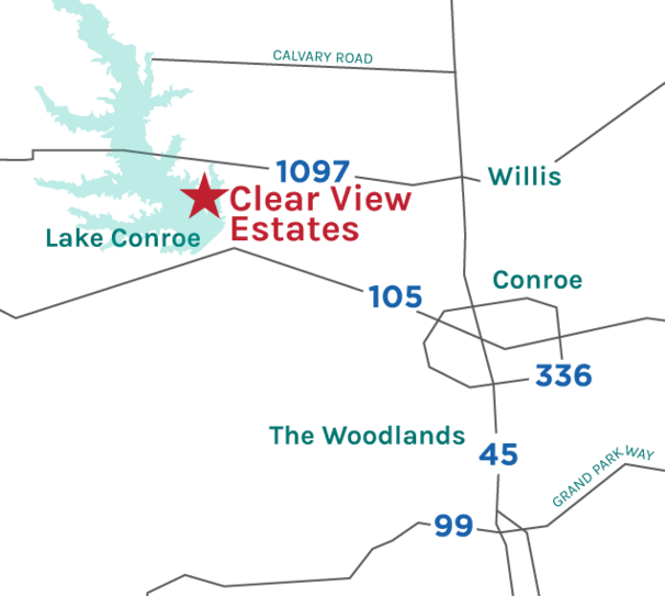 Clear View Estates Map