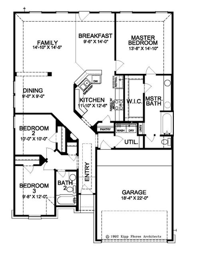 Adams ABC Floor Plan