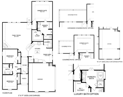 Truman EF Floor Plan