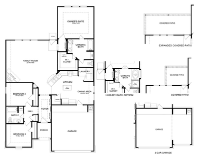 Truman ABC Floor Plan