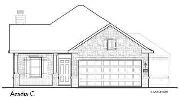 Conroe Home Elevation