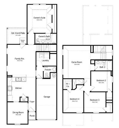San Saba Floor Plan