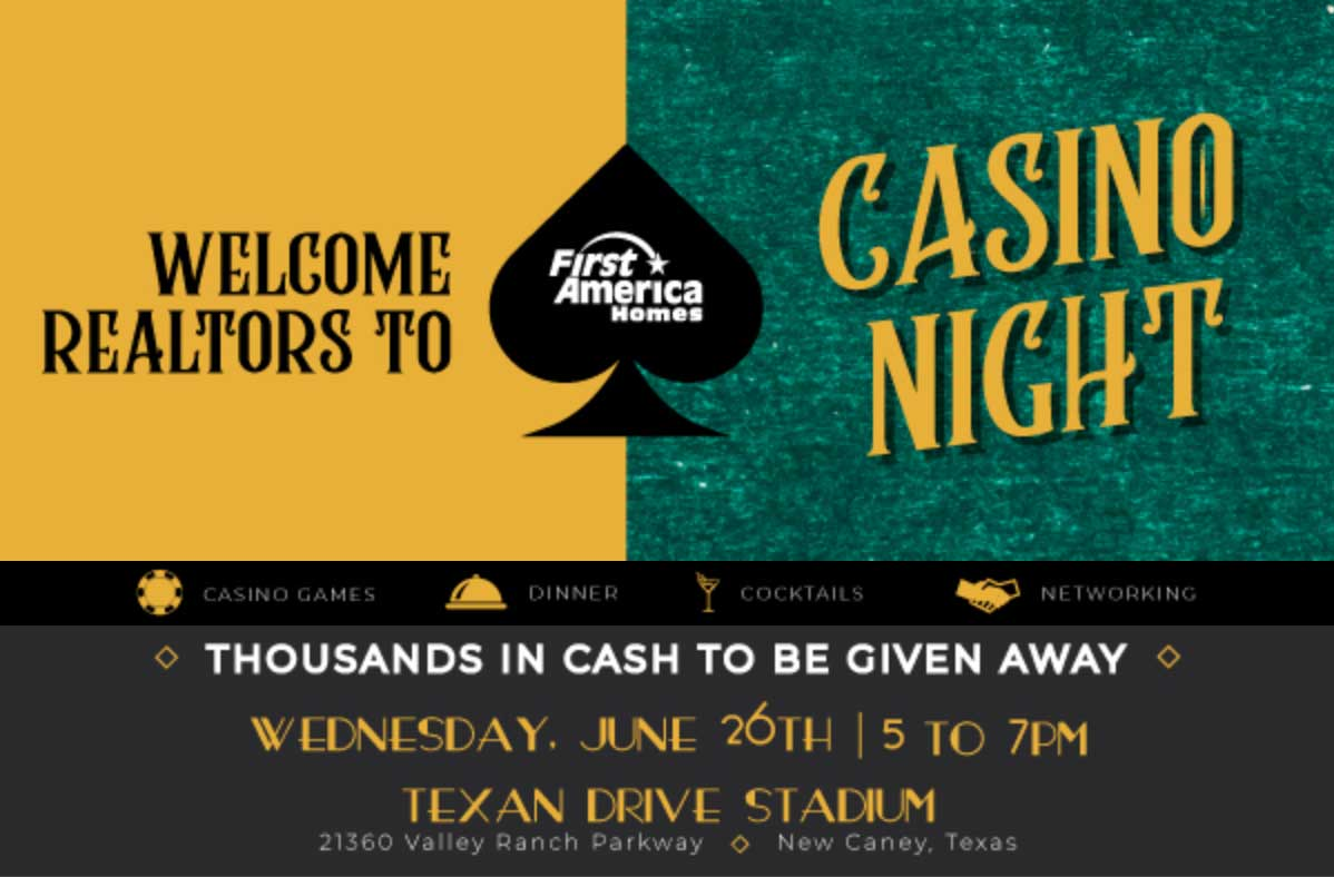 You're invited to Casino Night!