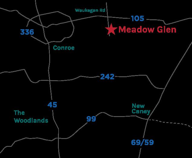 Meadow Glen Map