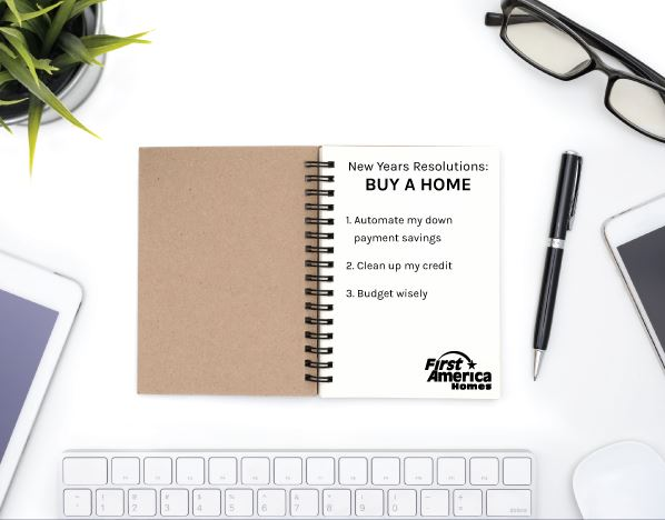 First America Homes New Year Resolutions New Home