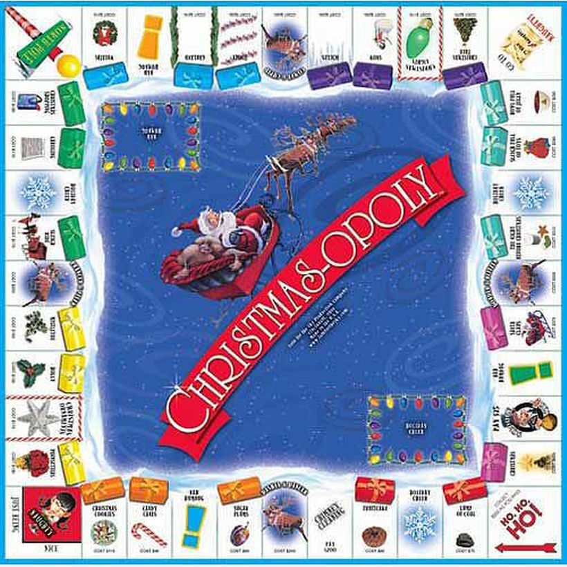 Christmas Monopoly Game