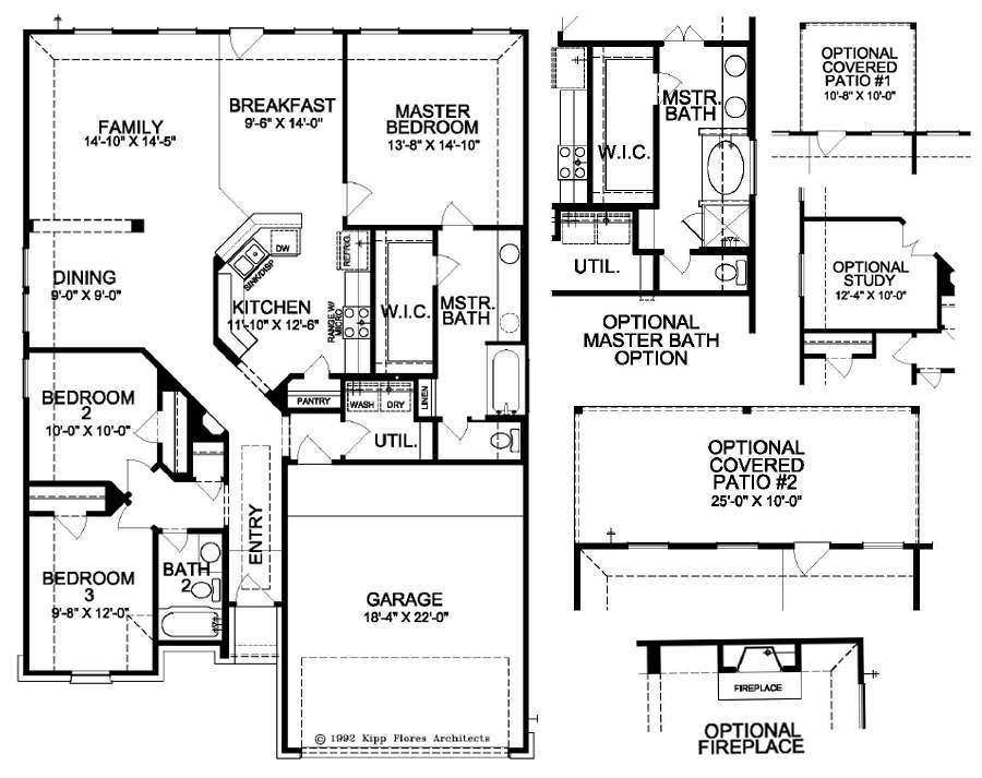 First america homes conroe new homes 4707 waukegan road for American home builders floor plans