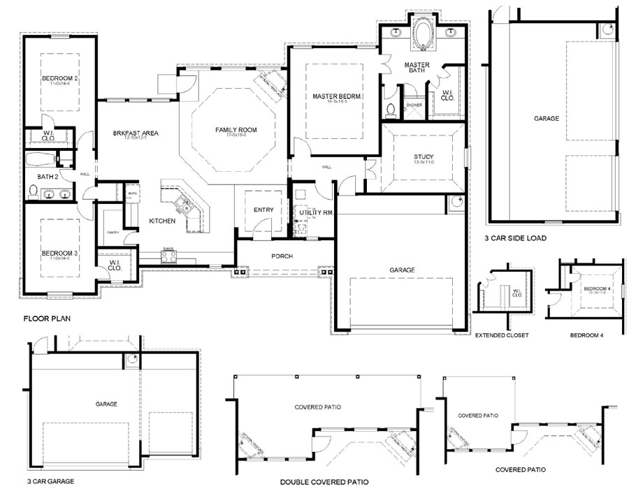 First america homes willis new homes 1670 opal trail for Madison house plan